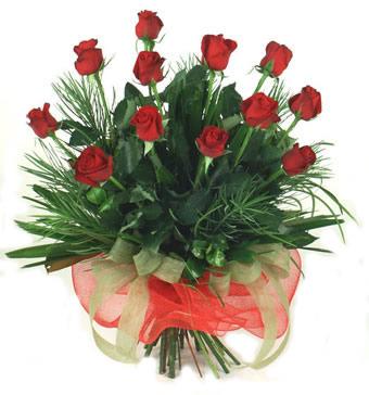 Çiçek yolla 12 adet kirmizi gül buketi  Ankara güvenli kaliteli hızlı çiçek