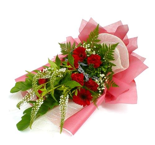 Karisik çiçek buketi mevsim buket  Ankara çiçek siparişi sitesi