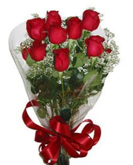 Çiçek sade gül buketi 7 güllü buket  Ankara online çiçek gönderme sipariş