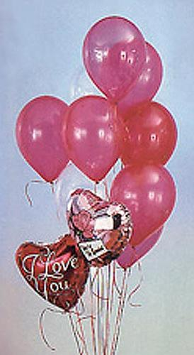 seni seviyorum yazili uçan balonlar