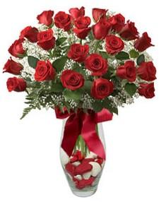 17 adet essiz kalitede kirmizi gül  Ankara çiçek mağazası , çiçekçi adresleri