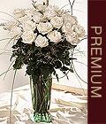 Ankara kaliteli taze ve ucuz çiçekler  Beyaz güllerden vazo tanzim