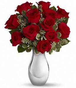 Ankara çiçek siparişi vermek   vazo içerisinde 11 adet kırmızı gül tanzimi