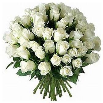 Ankara çiçek servisi , çiçekçi adresleri  33 adet beyaz gül buketi