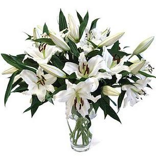 Ankara çiçekçi telefonları  3 dal görsel casablanca vazo tanzimi