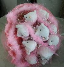Ankara online çiçek gönderme sipariş  12 li Serdar beyin özel tanzimi ayı buketi