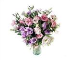 Ankara çiçek yolla , çiçek gönder , çiçekçi   Vazoda karisik kalite lisyantusler