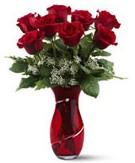 8 adet kırmızı gül sevgilime hediye  Ankara hediye çiçek yolla