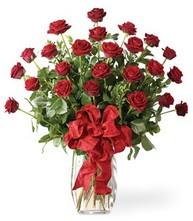 Sevgilime sıradışı hediye güller 24 gül  Ankara 14 şubat sevgililer günü çiçek