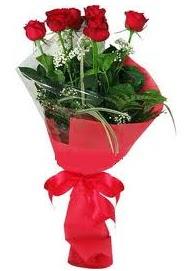 Çiçek yolla sitesinden 7 adet kırmızı gül  Ankara internetten çiçek satışı