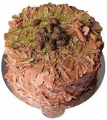 4 ile 6 kişilik Drajeli yaş pasta