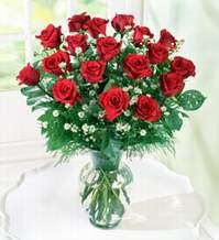Ankara internetten çiçek satışı  9 adet mika yada vazoda kirmizi güller