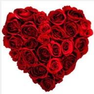 Ankara uluslararası çiçek gönderme  19 adet kırmızı gülden kalp tanzimi