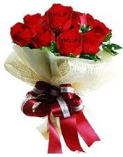 Görsel 12 adet kırmızı gül buketi  Ankara online çiçek gönderme sipariş