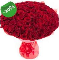 Özel mi Özel buket 101 adet kırmızı gül  Ankara anneler günü çiçek yolla