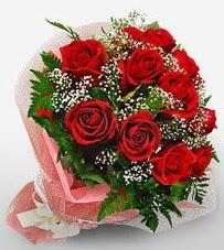 12 adet kırmızı güllerden kaliteli gül  Ankara çiçek siparişi vermek