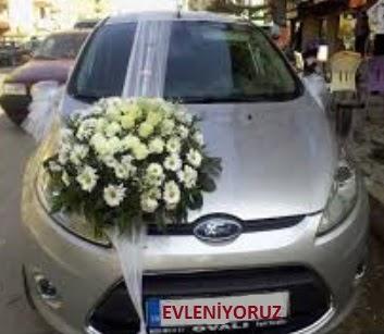Ankara ucuz çiçek gönder  Gelin arabası süslemesi