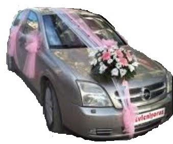Ankara çiçek yolla  Gelin arabası süslemesi