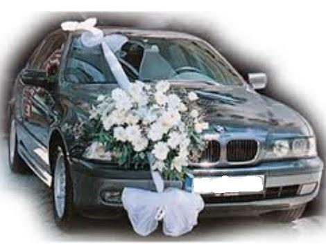Ankara çiçek , çiçekçi , çiçekçilik  Görsel gelin arabası süsleme