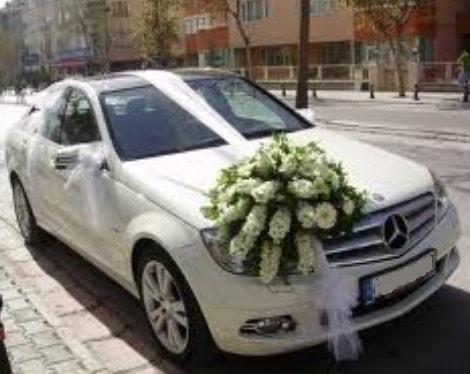 Gelin arabası süslemesi  Ankara çiçek satışı