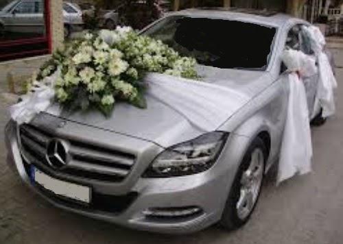 Sünnet düğün arabası süslemesi  Ankara çiçek satışı