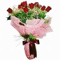 Ankara çiçek siparişi sitesi  12 adet kirmizi kalite gül