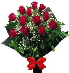 11 adet kırmızı gülden buket  Ankara çiçekçi telefonları