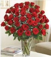 Cam vazoda 51 kırmızı gül süper indirimde  Ankara uluslararası çiçek gönderme