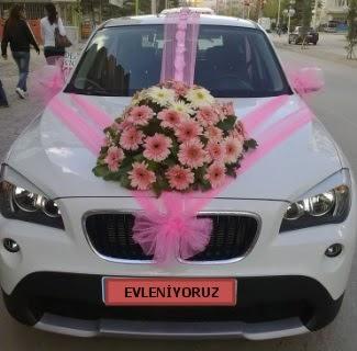 Ankara gelin arabası süsleme fiyatları  Ankara çiçekçi mağazası
