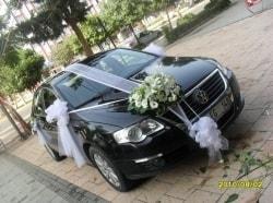 Sade gelin arabası süslemesi  Ankara kaliteli taze ve ucuz çiçekler