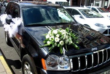 Ankara düğün arabası süslemesi  Ankara internetten çiçek siparişi