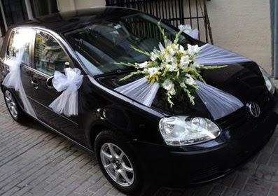 Ankara düğün gelin arabası süslemesi  Ankara çiçek mağazası , çiçekçi adresleri