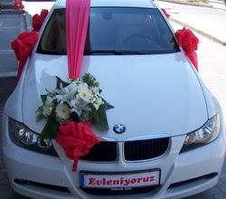 Gelin araba süslemesi  Ankara 14 şubat sevgililer günü çiçek
