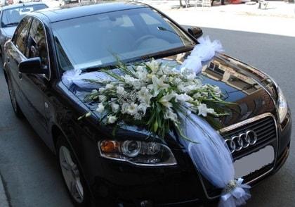 Ankara araba süslemesi gelin arabası  Ankara ucuz çiçek gönder