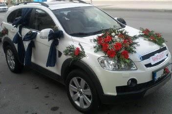 araba süsleme  Ankara anneler günü çiçek yolla