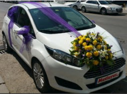 Ankara araba süslemesi  Ankara yurtiçi ve yurtdışı çiçek siparişi