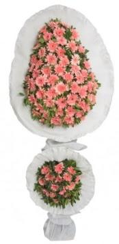 Çift katlı düğün açılış nikah çiçeği modeli  Ankara çiçek gönderme