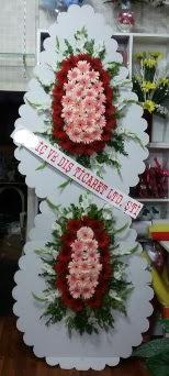 Çift katlı düğün nikah açılış çiçeği  Ankara çiçek gönderme sitemiz güvenlidir