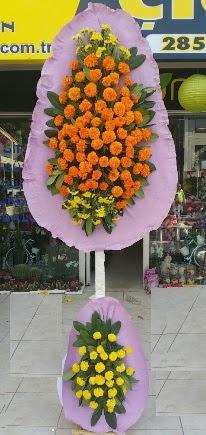 Ankara cicek , cicekci  Çift katlı düğün nikah çiçeği