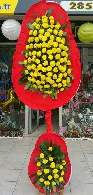Çift katlı düğün nikah açılış çiçeği  Ankara internetten çiçek siparişi