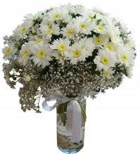 Vazoda beyaz papatyalar  Ankara yurtiçi ve yurtdışı çiçek siparişi