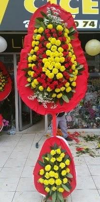 Çift katlı düğün nikah açılış çiçeği  Ankara anneler günü çiçek yolla