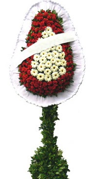 Çift katlı düğün nikah açılış çiçek modeli  Ankara hediye çiçek yolla