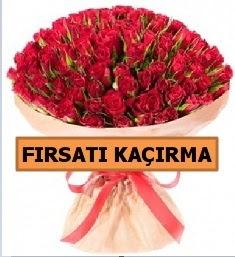 SON 1 GÜN İTHAL BÜYÜKBAŞ GÜL 101 ADET  Ankara internetten çiçek satışı