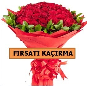 SON 1 GÜN İTHAL BÜYÜKBAŞ GÜL 51 ADET  Ankara internetten çiçek satışı