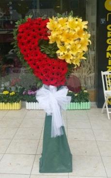 Yasin model ferförje kalp çiçek modeli  Ankara çiçek yolla