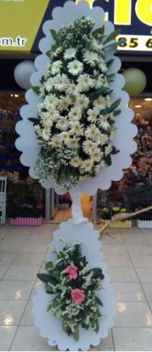 Çift katlı düğün nikah açılış çiçeği  Ankara çiçekçi telefonları