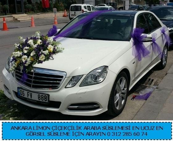Ankara gelin arabası süslemesi  Ankara çiçek gönderme sitemiz güvenlidir