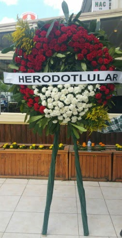 Cenaze çelengi cenazeye çiçek modeli  Ankara çiçek satışı