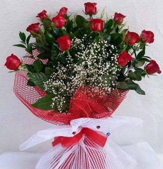 13 kırmızı gülden kız isteme söz çiçeği  Ankara çiçekçi telefonları